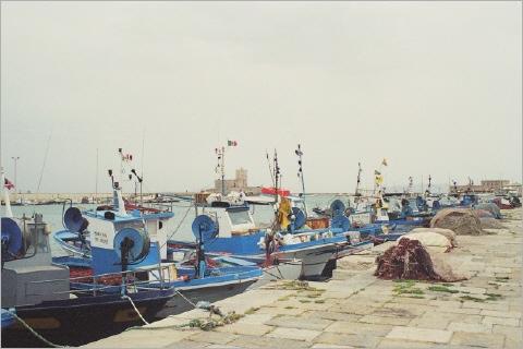 Der Hafen von Trapani